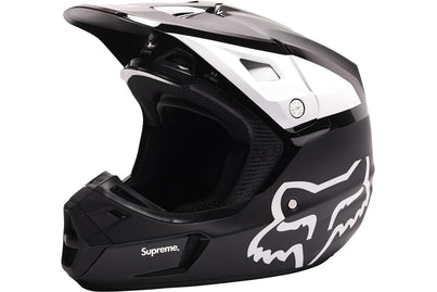 SUPREME FOX RACING V2 HELMET BLACK
