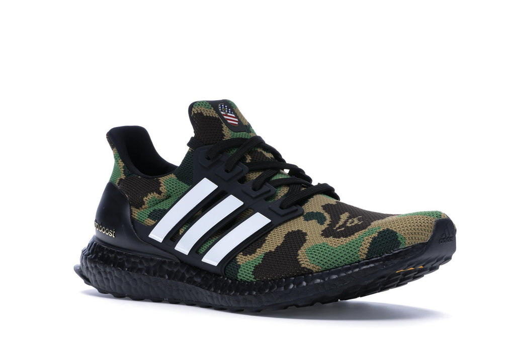 ADIDAS ULTRA BOOST 4.0 BAPE CAMO GREEN