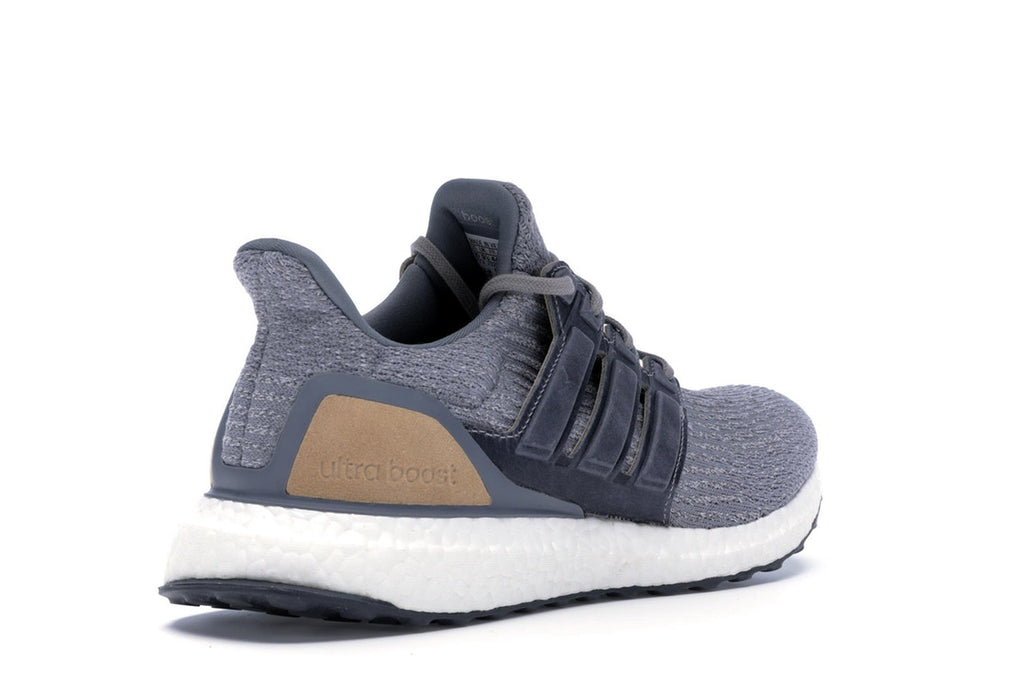 ADIDAS ULTRA BOOST 3.0 GREY LEATHER CAGE