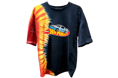 TRAVIS SCOTT JACK BOYS RACING TIE-DYE TEE