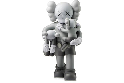 KAWS FIGURE CLEAN SLATE VINYL GREY