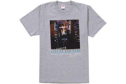 SUPREME KING OF NEW YORK TEE GREY