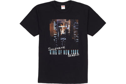 SUPREME KING OF NEW YORK TEE BLACK
