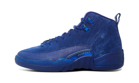AIR JORDAN 12 BLUE SUEDE GS