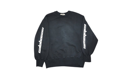 CALABASAS CREWNECK BLACK/WHITE