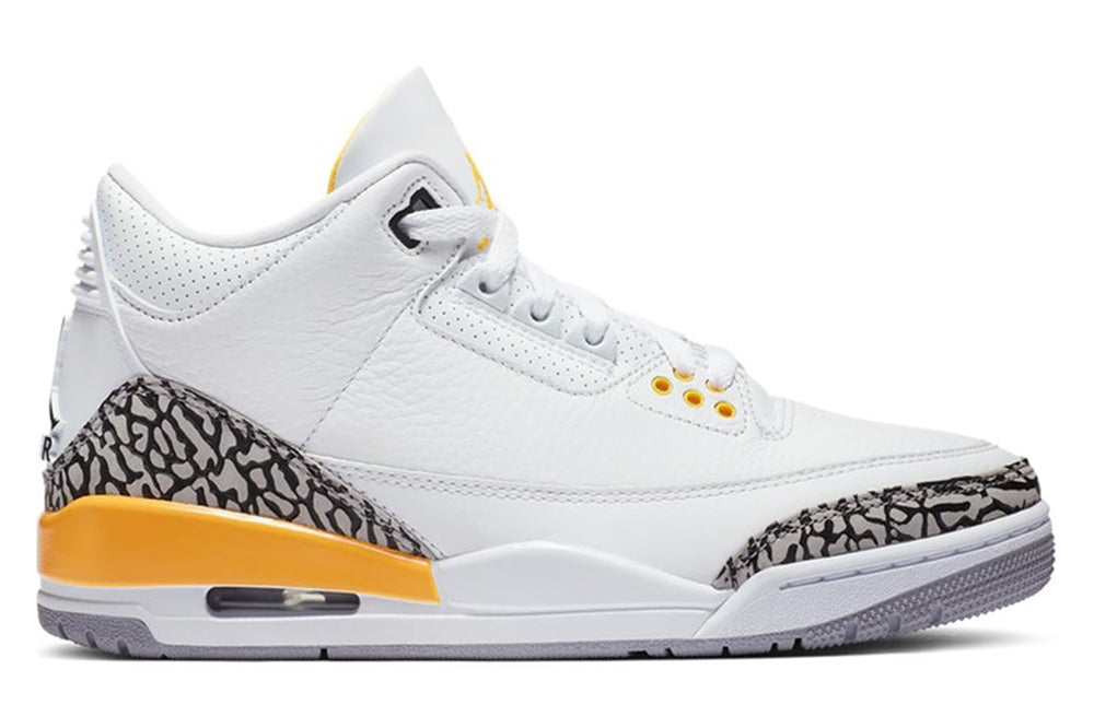 AIR JORDAN 3 RETRO LASER ORANGE (WOMENS)