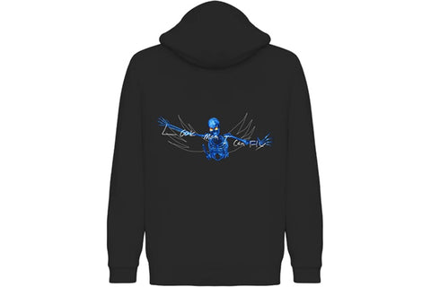 TRAVIS SCOTT LOOK MOM HOODIE BLACK