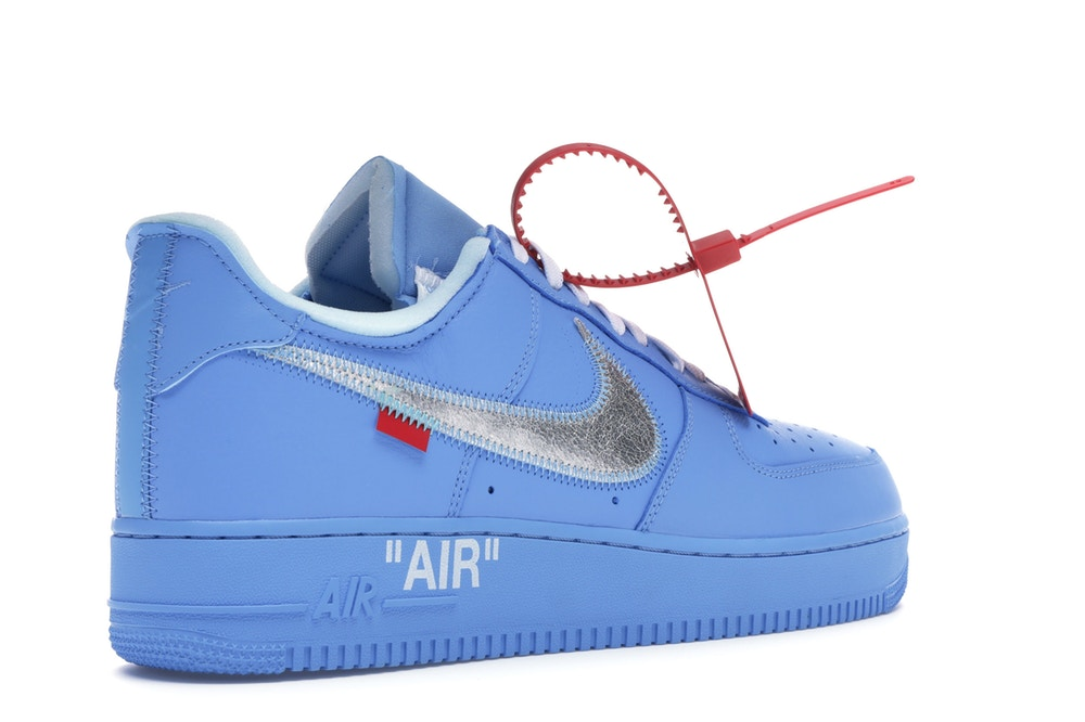 separation shoes f58b6 a69cc NIKE AIR FORCE 1 LOW OFF WHITE MCA UNIVERSITY BLUE