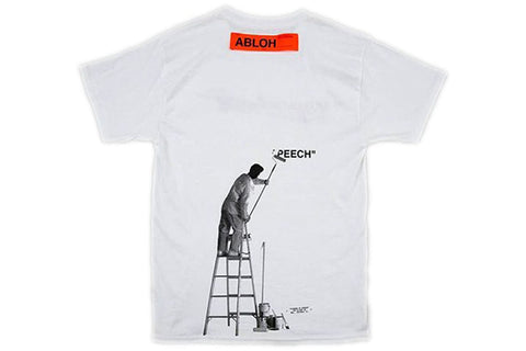 VIRGIL ABLOH X MCA FIGURES OF SPEECH TEE WHITE