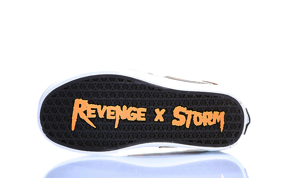 REVENGE X STORM LOW TOP ORANGE CAMO