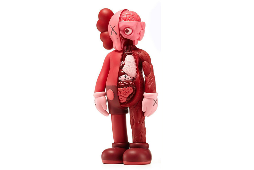KAWS COMPANION FLAYED RED