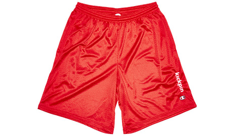 KICKPIN CHAMPION MESH SHORTS RED