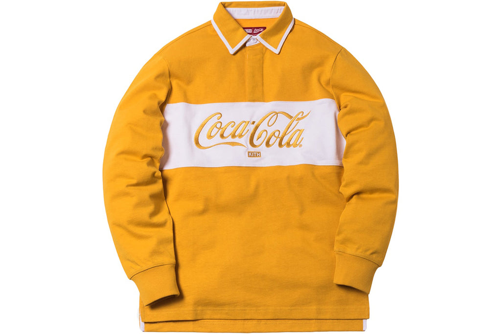 KITH x COKE CLASSIC RUGBY YELLOW