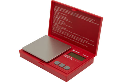 SUPREME AWS MAX-700 DIGITAL SCALE RED