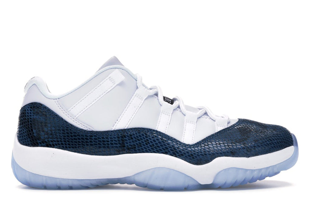 AIR JORDAN 11 LOW SNAKE NAVY (2019)