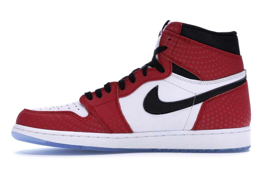 AIR JORDAN 1 SPIDER-MAN ORIGIN STORY