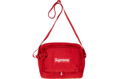 SUPREME SHOULDER BAG RED (SS19)