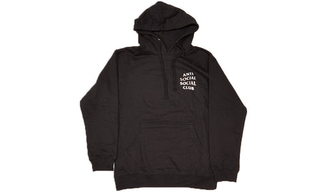 ANTI SOCIAL SOCIAL CLUB STORM BLACK HOODIE