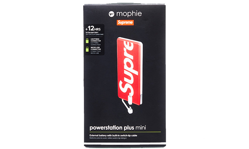 SUPREME x MOPHIE POWERSTATION PLUS MINI