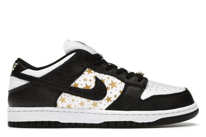 NIKE SB DUNK LOW SUPREME STARS BLACK (2021)