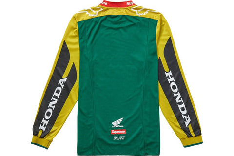 SUPREME HONDA FOX RACING MOTO JERSEY MOSS GREEN