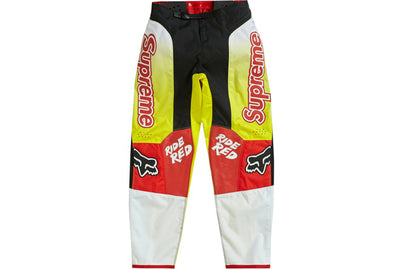 SUPREME HONDA FOX RACING MOTO PANT RED