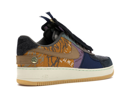 NIKE AIR FORCE 1 LOW TRAVIS SCOTT CACTUS JACK FOSSIL