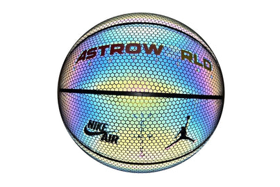 TRAVIS SCOTT UNRELEASED BASKETBALL REFLECTIVE IRIDESCENT