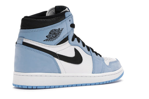 AIR JORDAN 1 RETRO HIGH WHITE UNIVERSITY BLUE BLACK