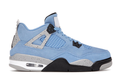AIR JORDAN 4 RETRO UNIVERSITY BLUE (GS)
