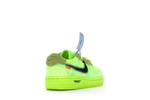 NIKE OFF WHITE AIR FORCE 1 LOW VOLT (TD)