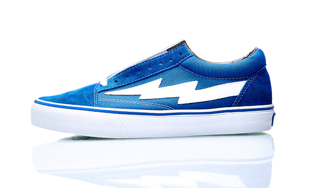 REVENGE X STORM LOW TOP BLUE