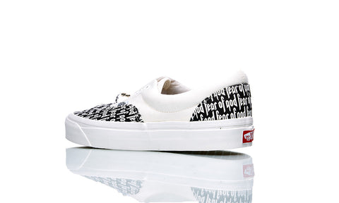 VANS X FEAR OF GOD ERA 95 WHITE/BLACK