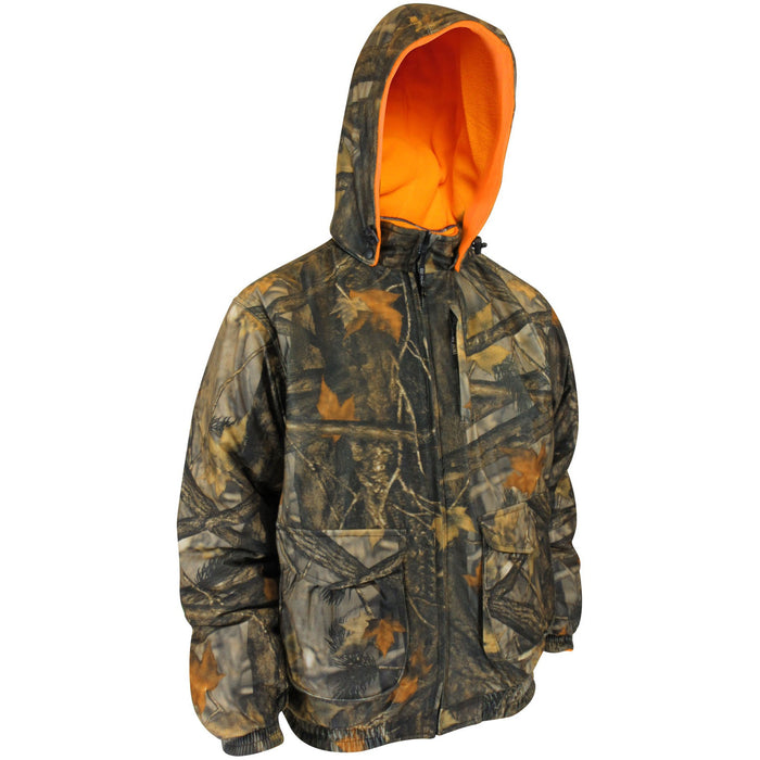 Hunting jacket reversible to orange - Black Safety Pearl