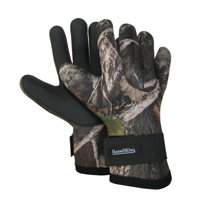 Neoprene camouflage glove - Black Safety Pearl