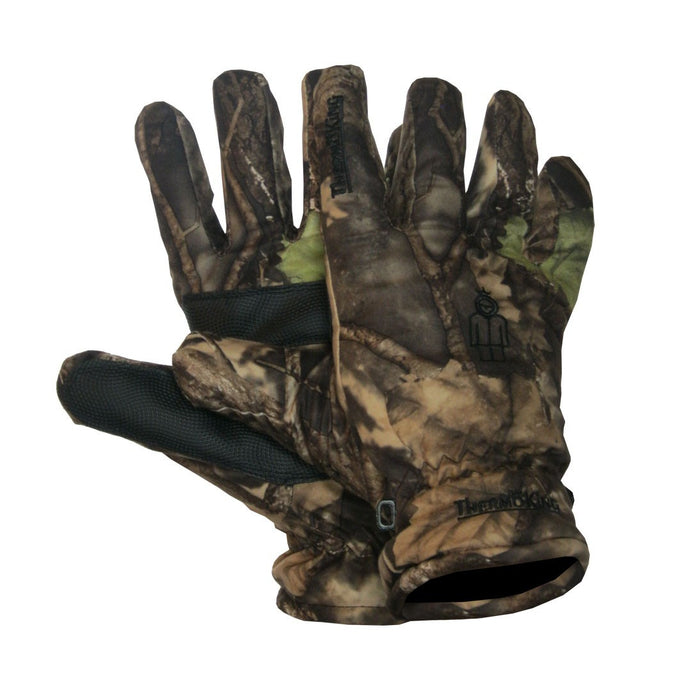 Lined hunting glove - Black Safety Pearl