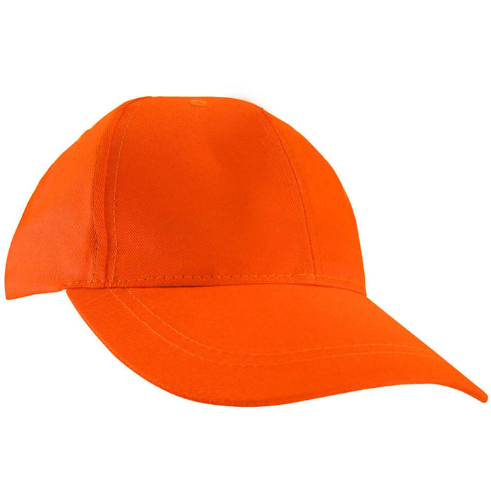 Fluorescent orange cap - Black Safety Pearl