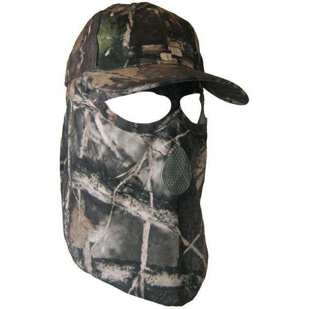 Cap with mask - Black Safety Pearl