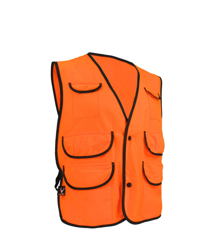 Junior hunting vest - Black Safety Pearl