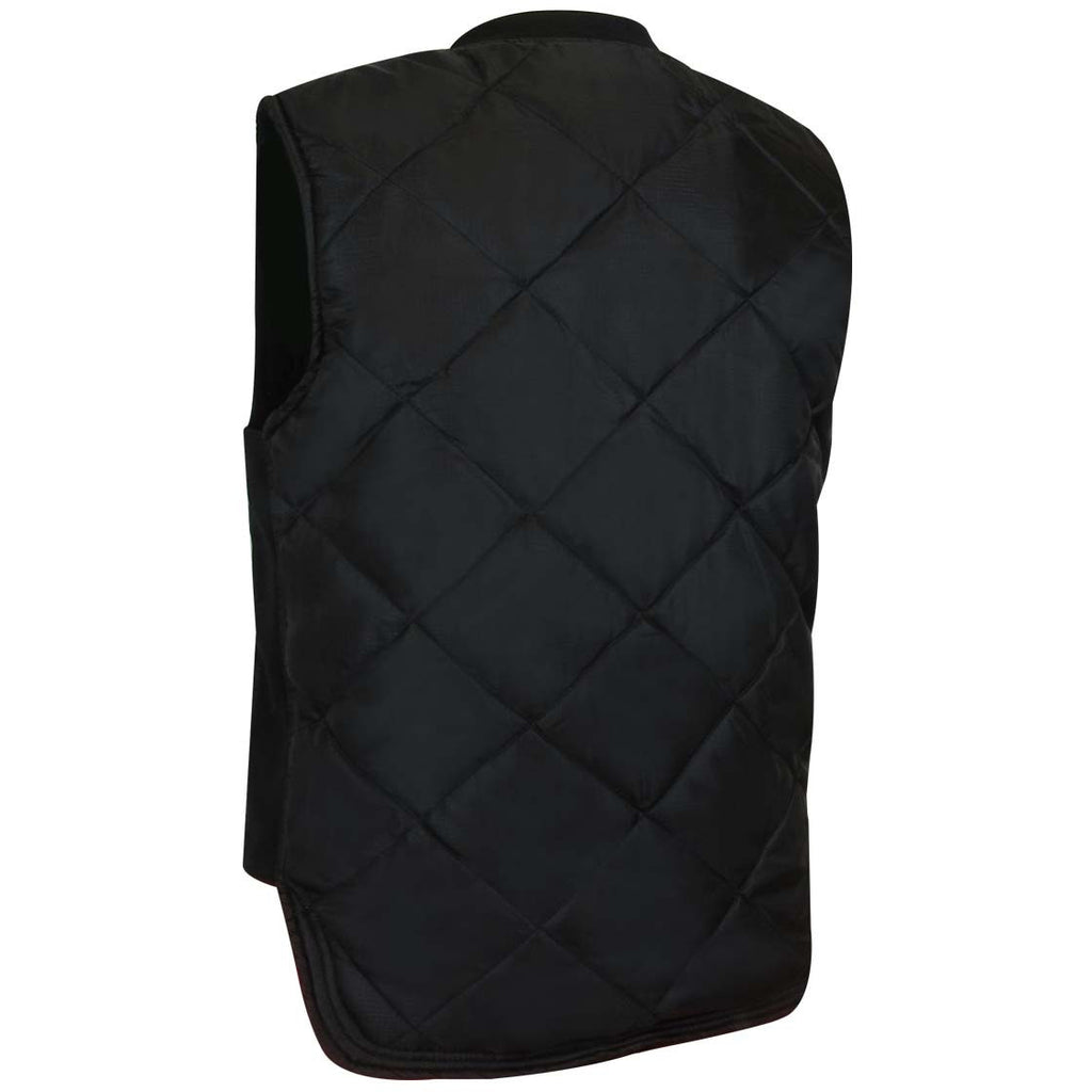 VESTE MATELASSÉE RÉVERSIBLE - Black Safety Pearl