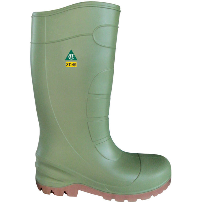 CSA APPROVED POLYURETHANE BOOTS, 35% LIGHTER THAN TRADITIONAL BOOTS