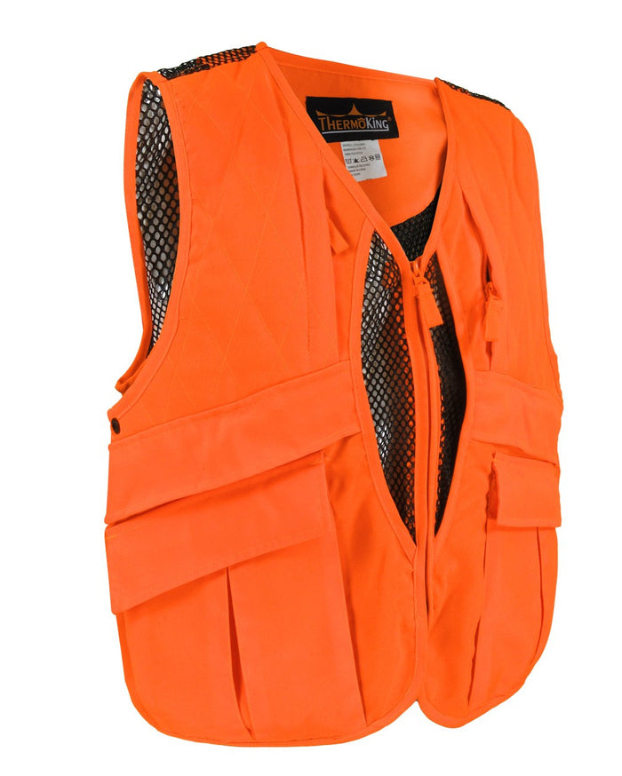 Game bag vest - Black Safety Pearl