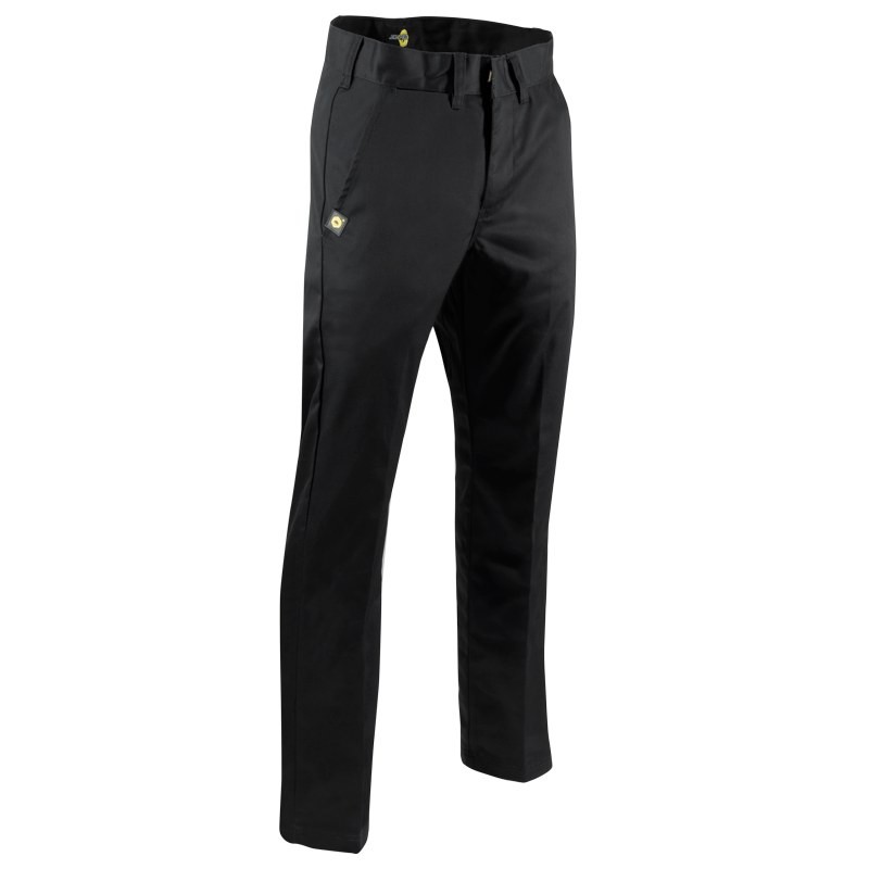 PANTALON NON DOUBLÉ - Black Safety Pearl