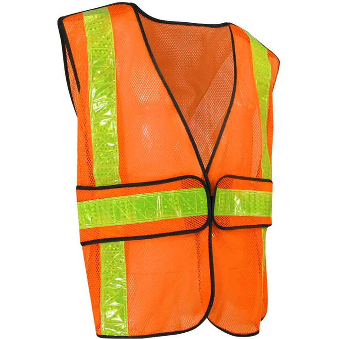 MESH SAFETY VEST - Black Safety Pearl