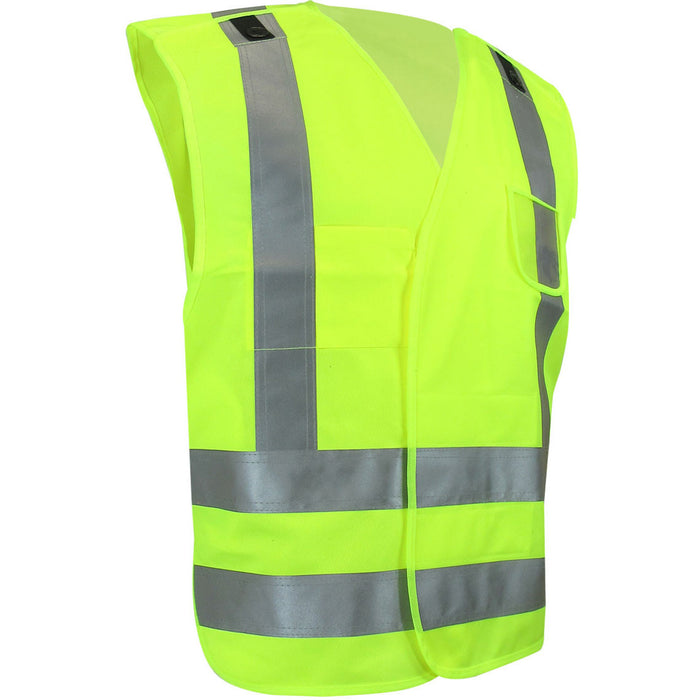 Safety vest - Black Safety Pearl
