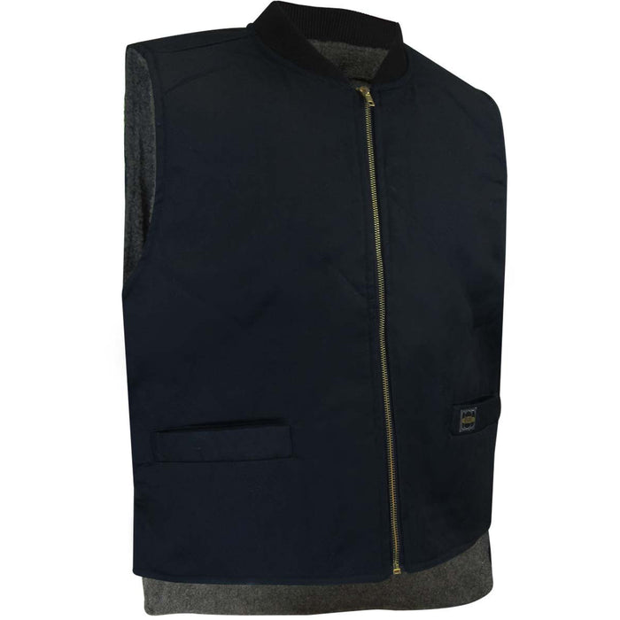 VESTE DOUBLÉE DE SIMILI-MOUTON - Black Safety Pearl