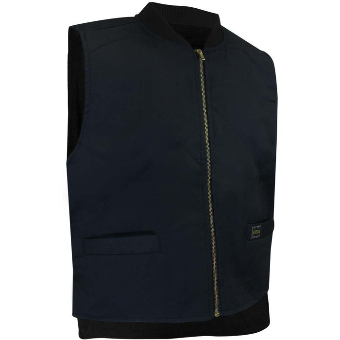 FLEECE LINED VEST - Black Safety Pearl