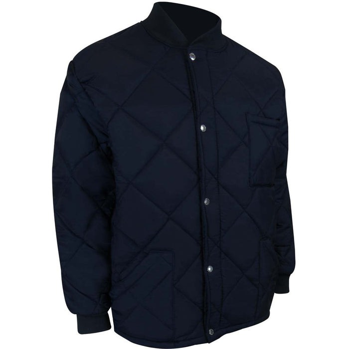 MANTEAU COURT DE RÉFRIGÉRATEUR - Black Safety Pearl