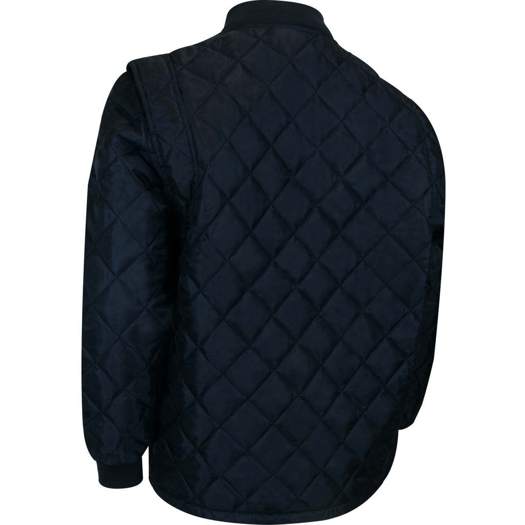 SHORT FREEZER JACKET - Black Safety Pearl