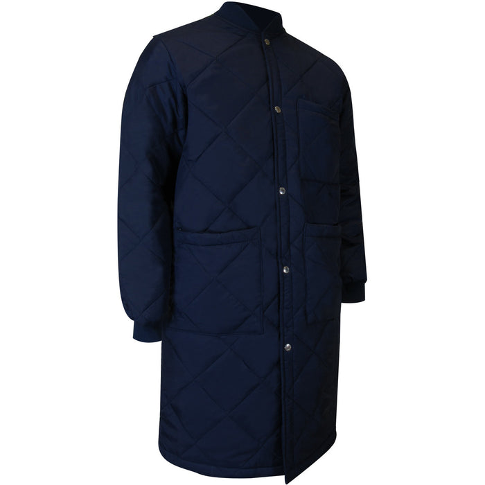 LONG FREEZER JACKET - Black Safety Pearl